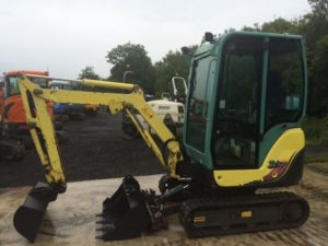 2007 Yanmar SV17 Mini Excavator **SOLD**