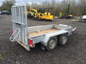 2016 Indespension AD2000 Twin Axle Plant Trailer