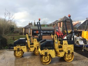**SOLD**2008 Bomag BW80-2 Double Drum Roller