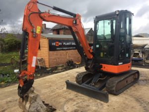 2013 Hitachi ZX29U-3 Mini Excavator