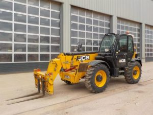 2012 JCB 535-140 HI VIZ Turbo Powershift Telehandler