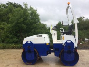 2007 Bomag BW138 Double drum Roller