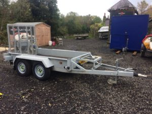 **SOLD** 2016 Indespension AD2000 Twin Axle Plant Trailer