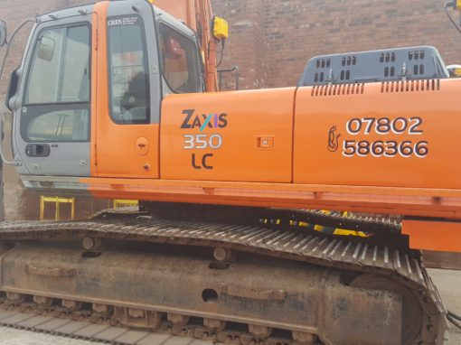 2006 Hitachi long reach ZX350LC **SOLD**