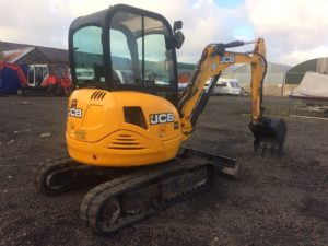 **SOLD** 2011 JCB 8030 3 Ton Mini Digger