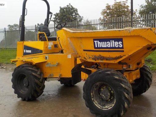 2012 Thwaites 6 Ton Swivel Dumper