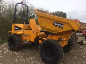 **SOLD**2011 Thwaites 6 Ton Swivel Dumper