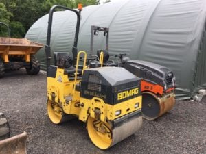 2009 Bomag 80-AD-2 Roller