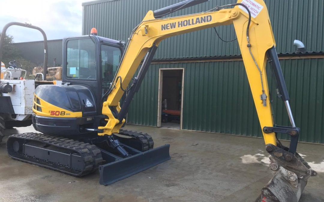 2012 New Holland Kobelco E50sr 5 Ton Digger