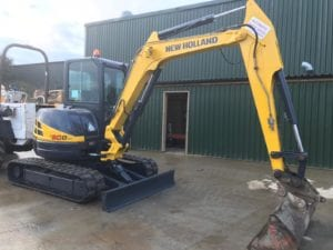 2012 New Holland Kobelco E50sr 5 Ton Digger