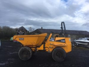 **SOLD** 2014 , Thwaites 9 Ton Swivel Dumper