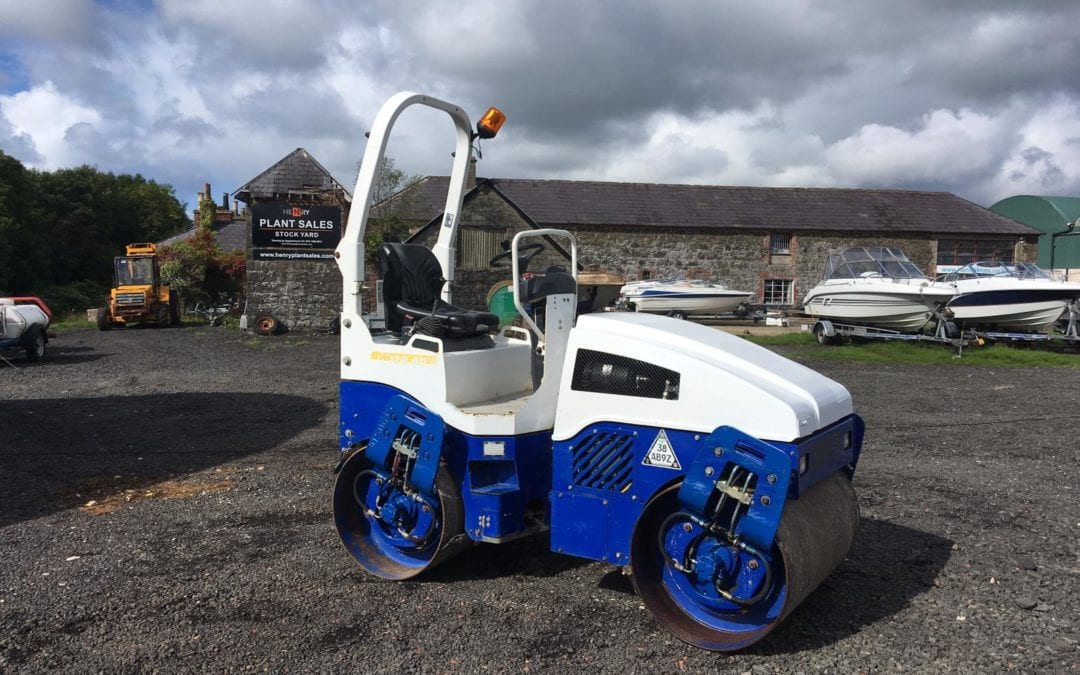 2010 Bomag BW120-AD-4 Roller