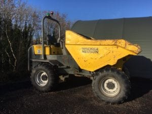 **SOLD** 2013 Wacker Neuson 9001 Dumper