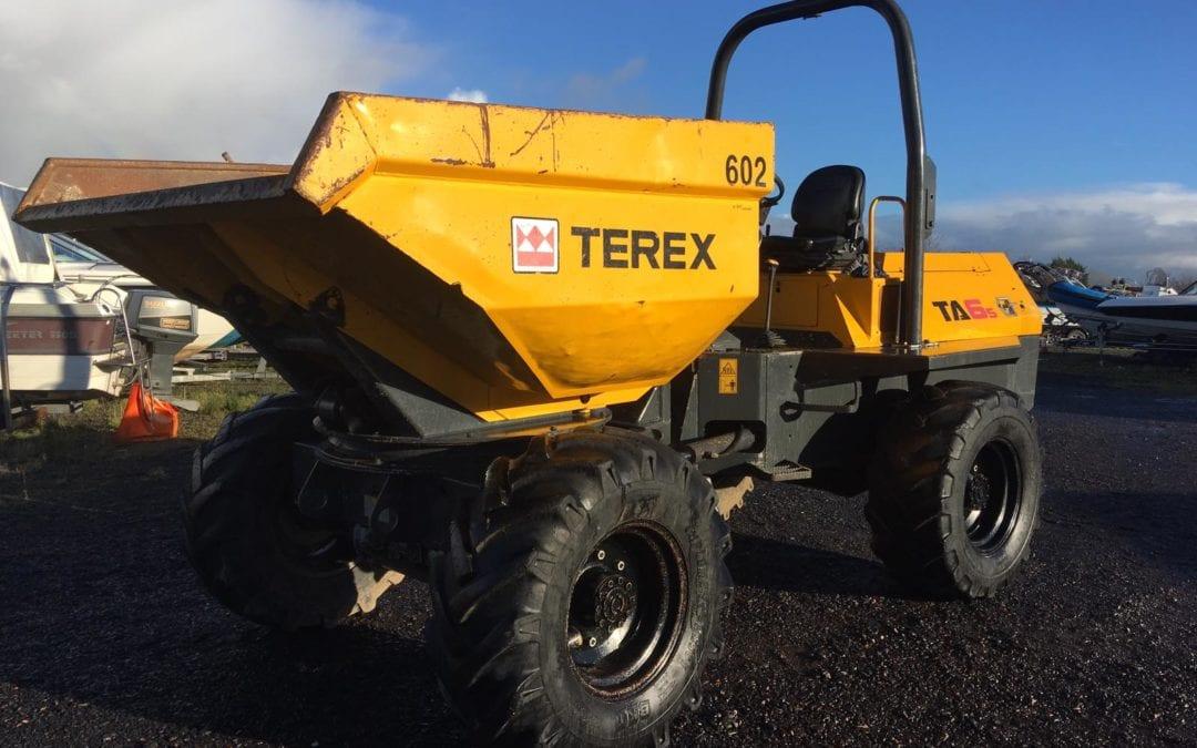 2010 Terex TA6 S Swivel Dumper