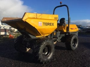 **SOLD** 2010 Terex TA6 S Swivel Dumper