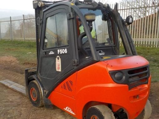 2010 Linde H30D-01 Forklift