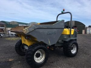 ** SOLD ** 2014 Wacker Neuson 9001 9 Ton Dumper – Two Units Available