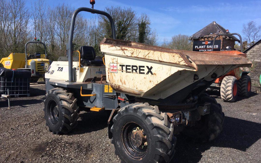 2011 Terex TA6S 6 Ton Swivel Dumper