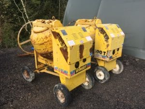 2015 5/7 Winget Cement Mixer