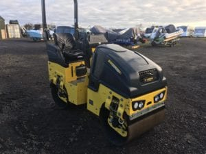 EX Demo 2018 Bomag BW80-5 Roller , 60 Hrs , As New Condition