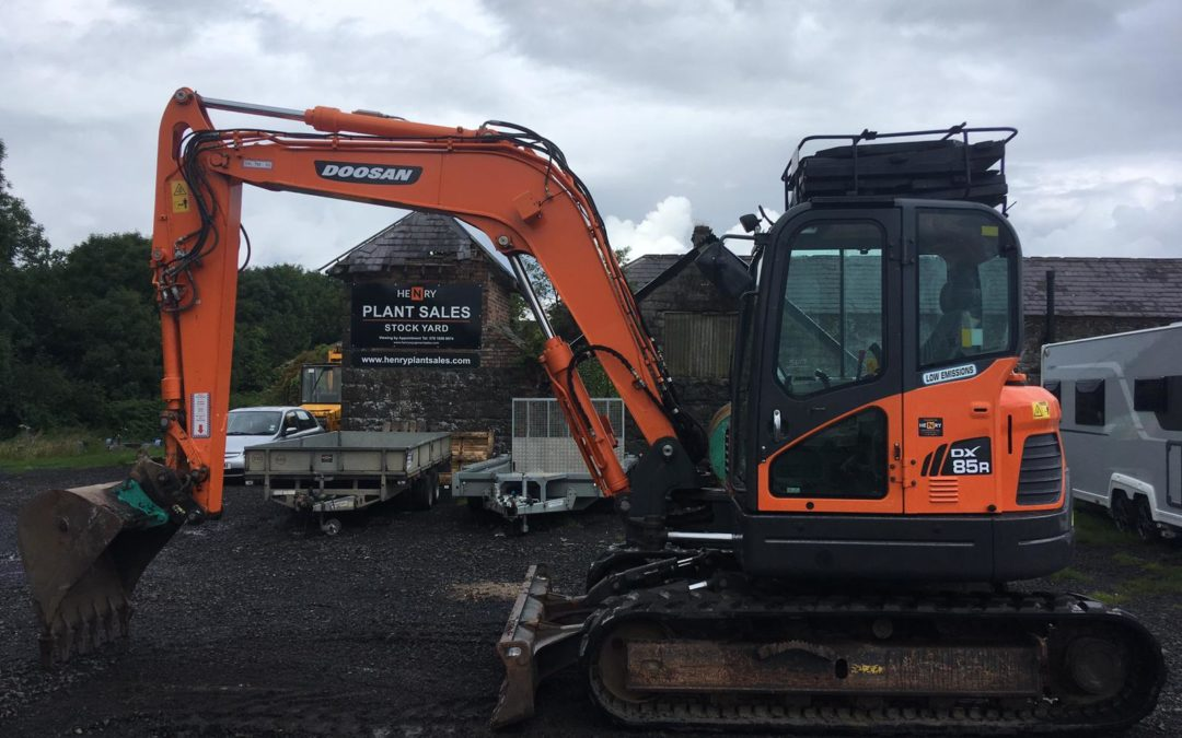 2015 Doosan DX85 R-3 – SOLD!