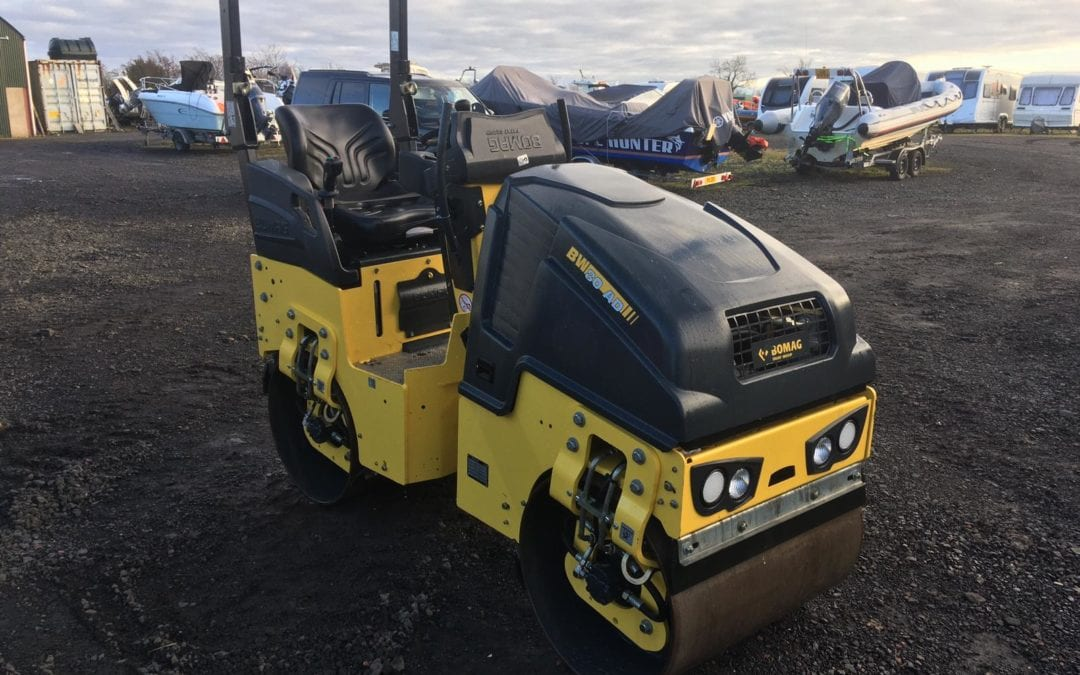 EX Demo 2018 Bomag BW80-5 Roller , 60 Hrs , As New Condition – SOLD!!