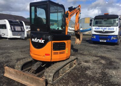 2017 Hanix HR27 Mini Excavator , Only 1400 hrs – Sold!!!