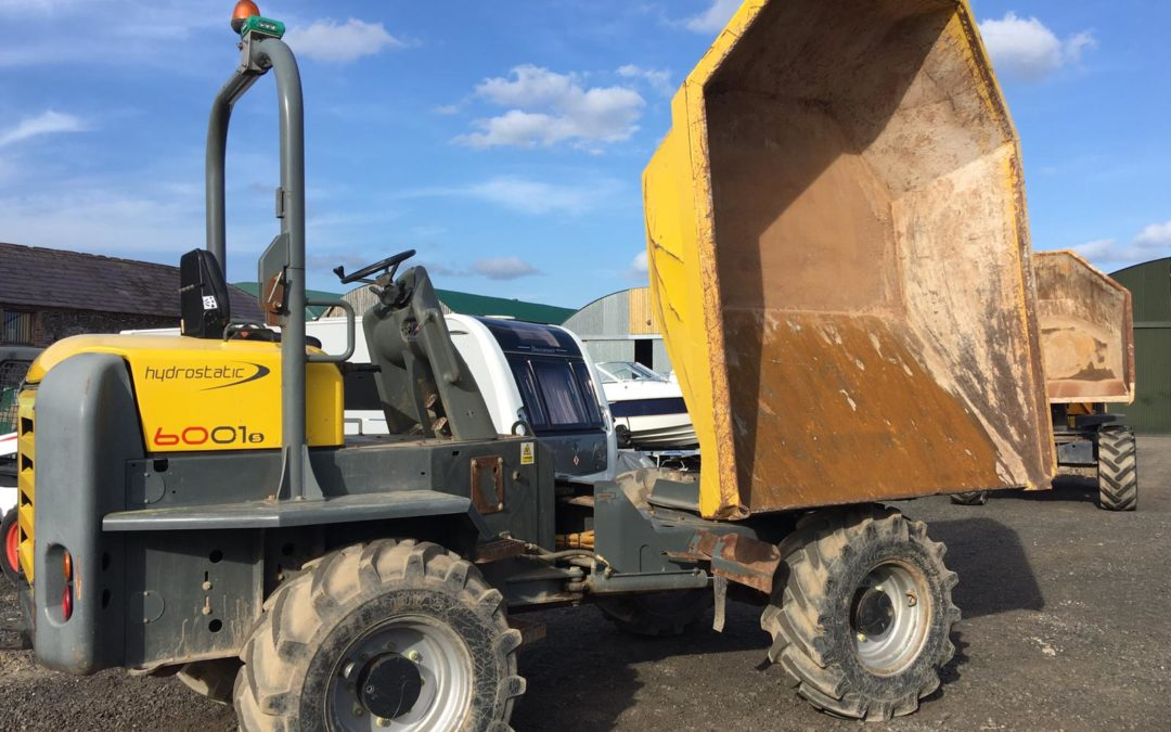 2014 Neuson 6001 Swivel Skip Dumper , immaculate with only 1100 hrs