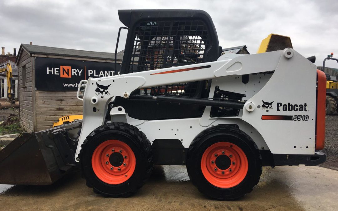 2015 Bobcat S510 Skidsteer loader , One Company Owner From New