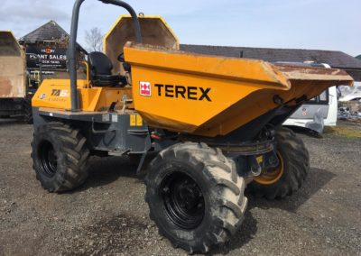 2013 Terex TA6 S Swivel Dumper , Ice Tidy Machine Well Maintained , only 2000 hrs