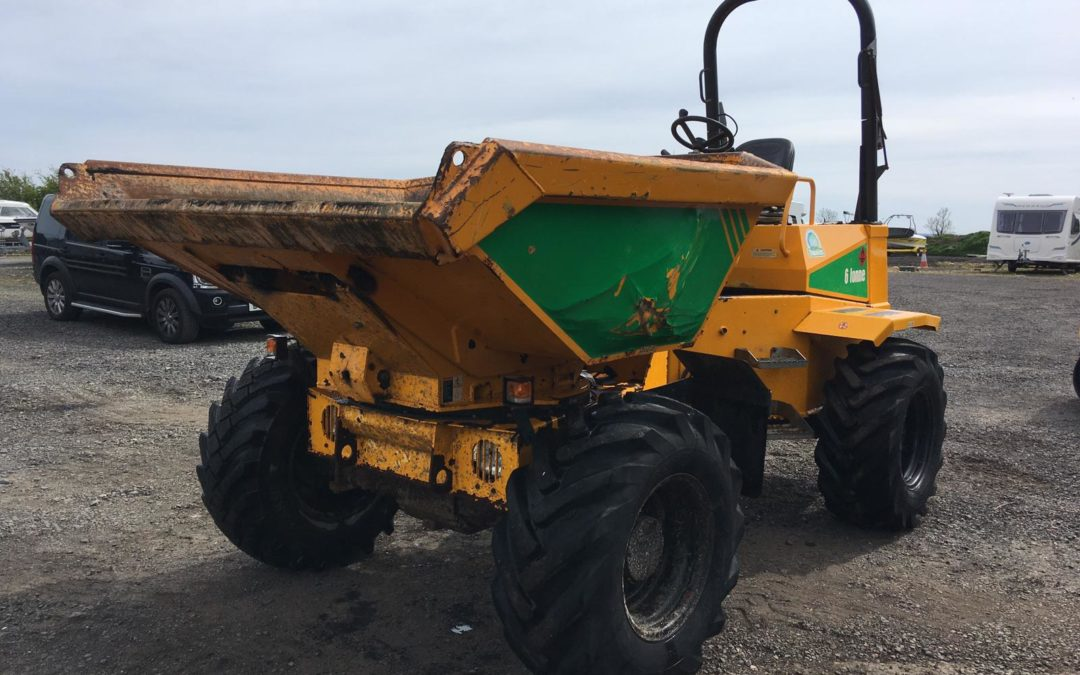 2014 Thwaites 6 Ton Swivel Dumper  Low hrs  Fully Serviced