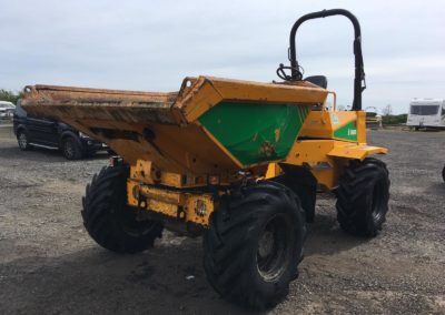 2014 Thwaites 6 Ton Swivel Dumper  900 hrs  Fully Serviced – Sold!!