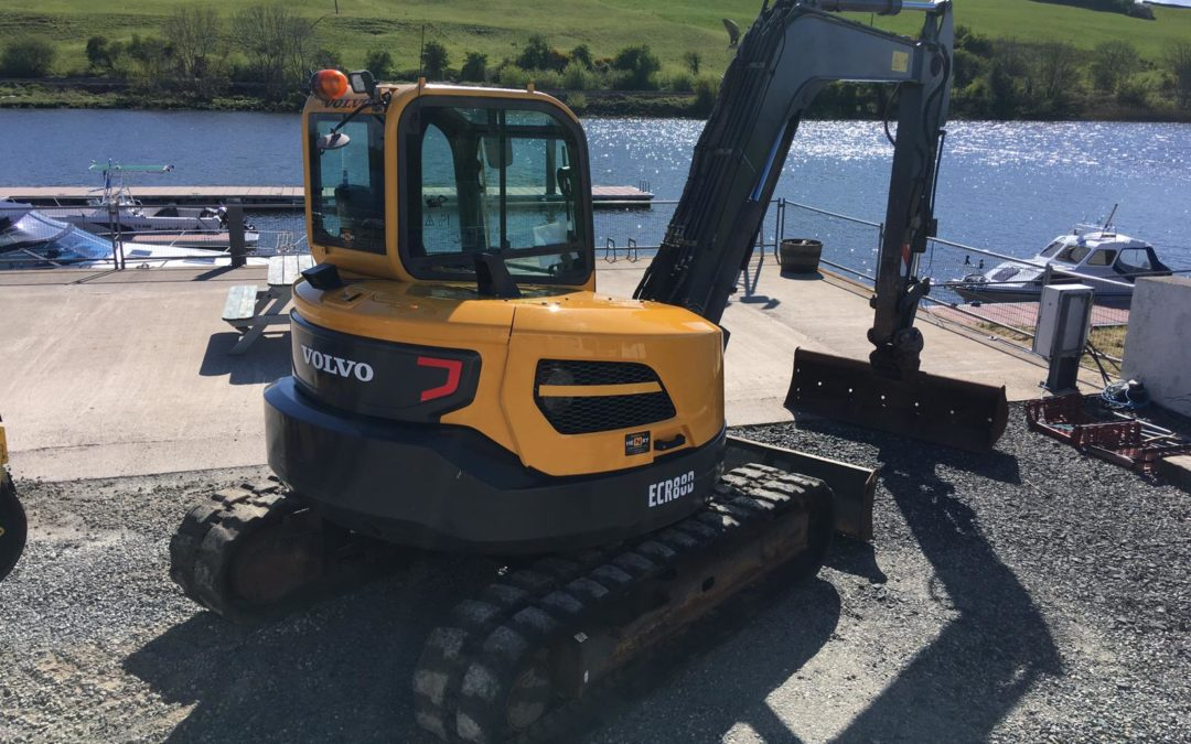 2015 Volvo ECR88 D , One Company Owner From New