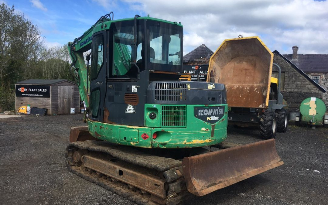 2008 Komatsu PC88  5100 hrs  Very tight Machine for the year – Sold!!