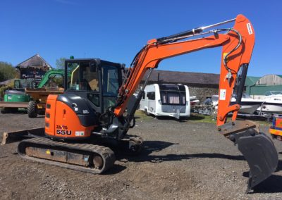 2017 Hitachi ZX55U-5 A CLR , One Company Owner From New, Immaculate – SOLD!!