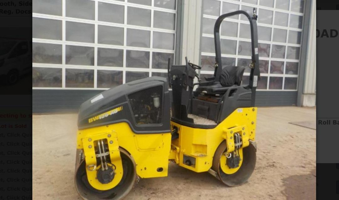 2013 Bomag BW120-AD-5 Roller