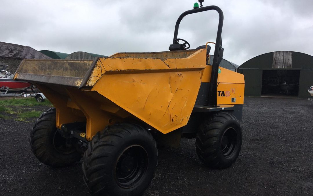 2016 Terex TA9, Only 900 hrs One Company Owner From New – Sold!!