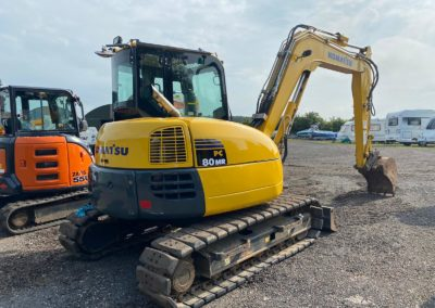 2016 Komatsu PC80 , 1  Company Owner From New, immaculate machine.